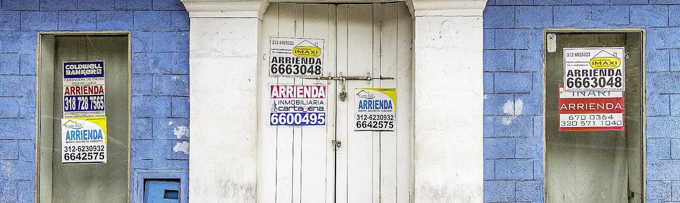 carteles para comprar vender una casa