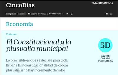articulo periodico 5 dias abogado madrid