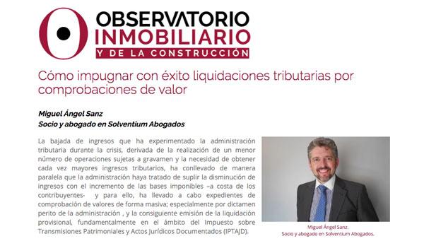 impugnar_liquidacion_tributaria_comprobacion_valor